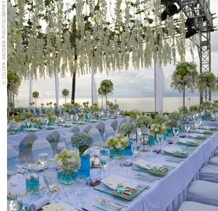 Find This Pin And More On Seaside Wedding By Artseagirl. Beach Wedding  Reception Ideas L