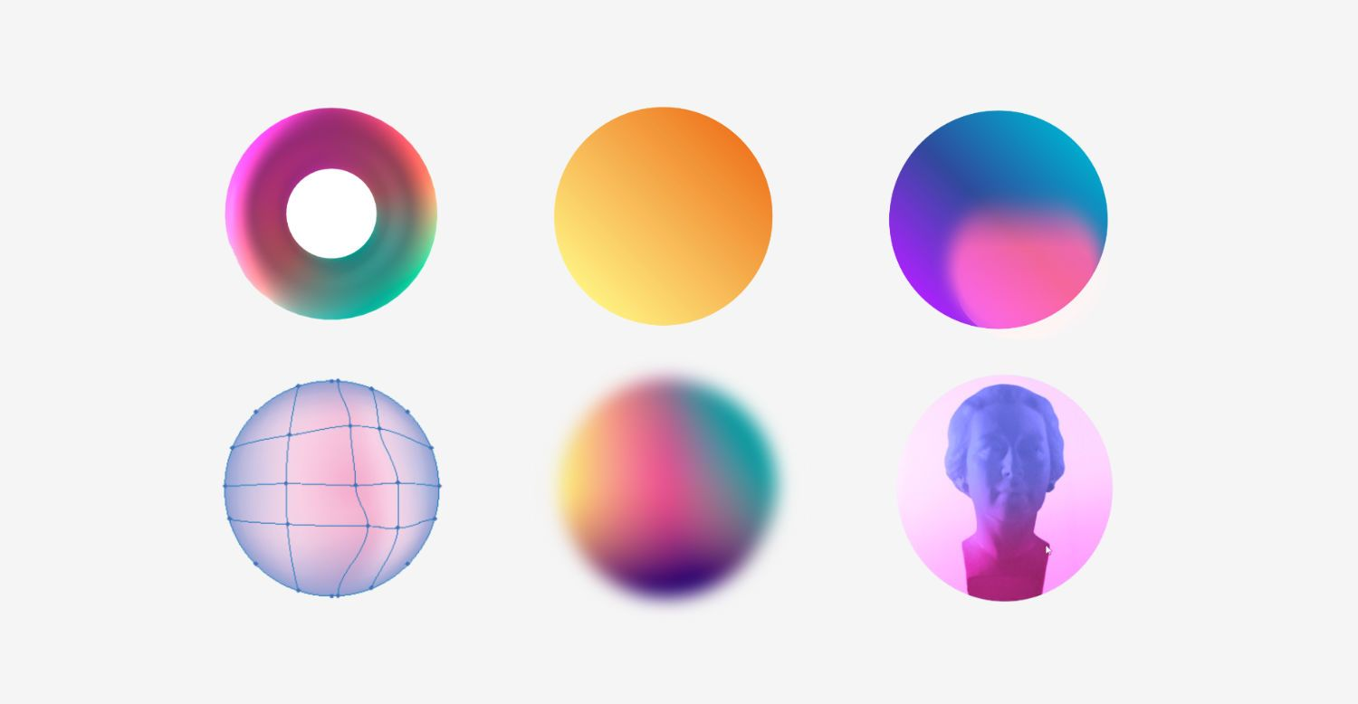 Trendy Gradients in Web Design (With images) Simple web