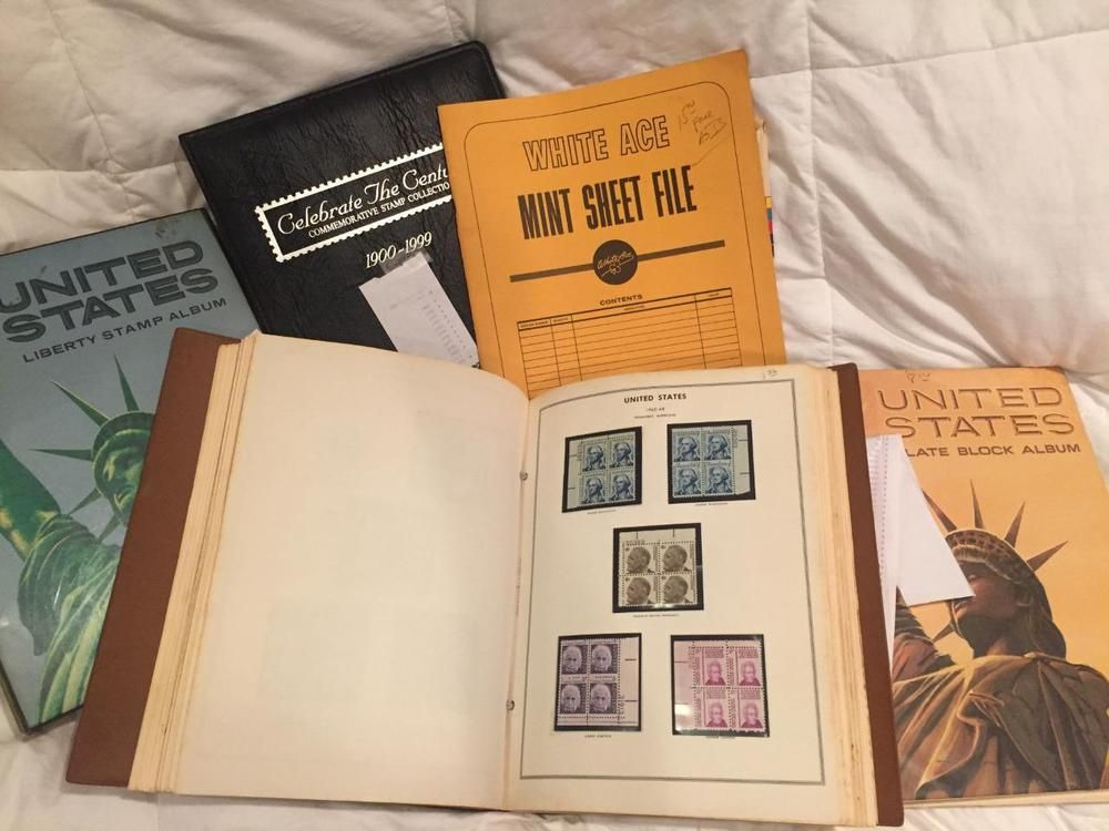 US Mint Stamp Collection Over 55000 Face Value 20th Century