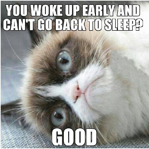 Another sleepless night ...