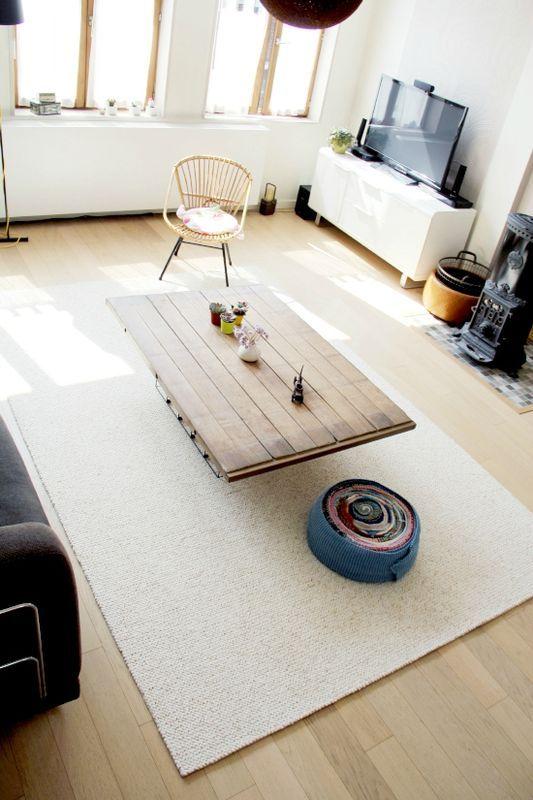 DIY tapis astuce acheter dela moquette et la couper à la taille
