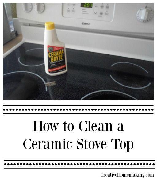 How To Clean A Ceramic Stove Top Ceramic Stove Top Stove Top