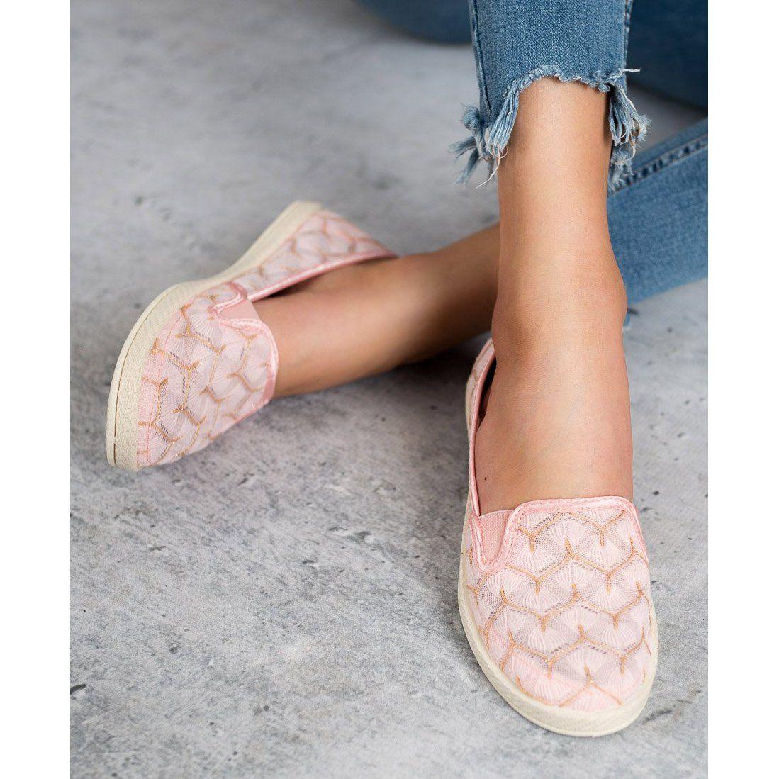 Pink Sneakers Slip On Vices Pink Sneakers Sneakers Trainers Women