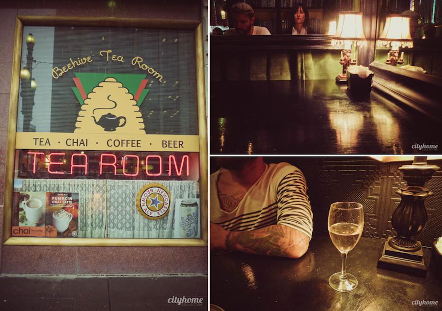 The Beehive Tea Room. saltlakecity tea chai beer