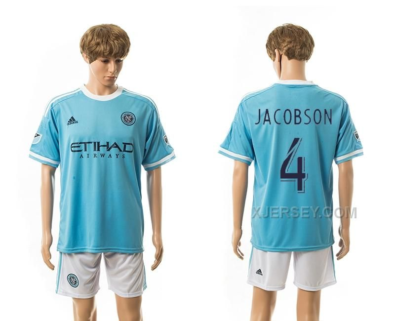 http://www.xjersey.com/201516-new-york-city-fc-4-jacobson-home-jerseys.html 2015-16 NEW YORK CITY FC 4 JACOBSON HOME JERSEYS Only $35.00 , Free Shipping!