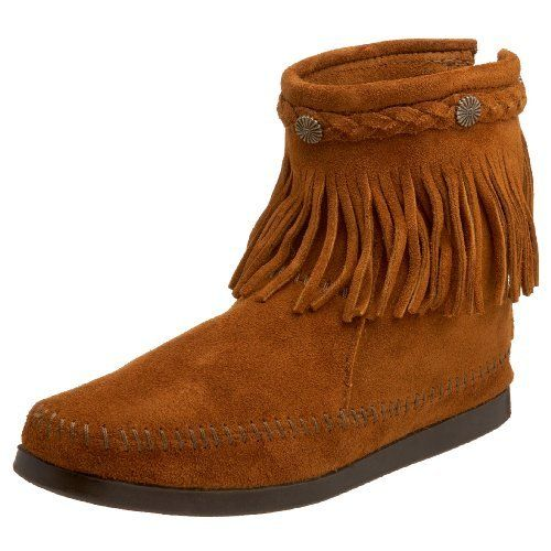 1bf62fdad2b Hi Top Back Zip Boot   Boots!   Boots, Moccasins, Indian boots
