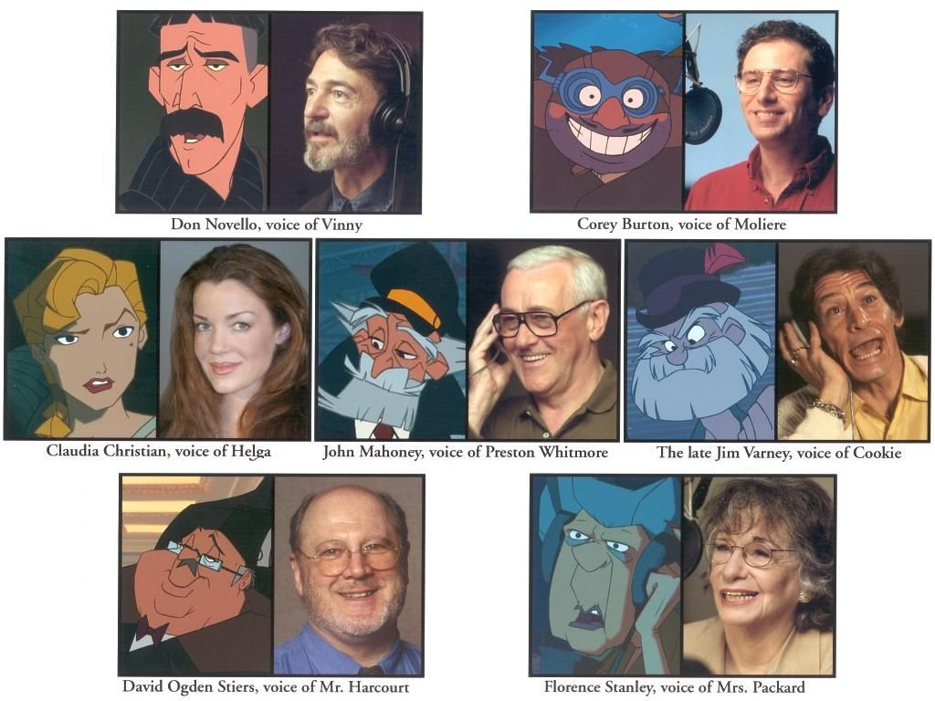 Disney S Atlantis The Lost Empire Voice Cast Disney
