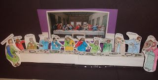 The Last Supper Craft and lesson plan!