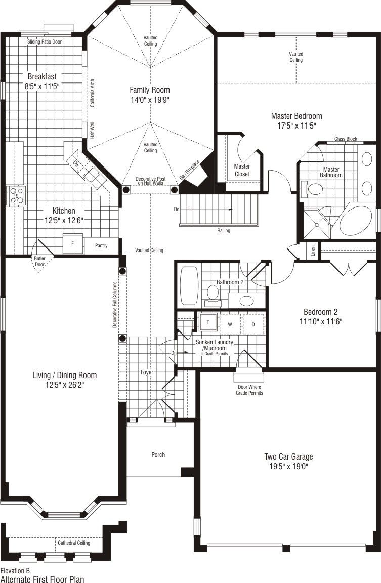 Alexander At Stonebridge Singles In Nepean Ontario Monarch Homes New Homes Home House Plans