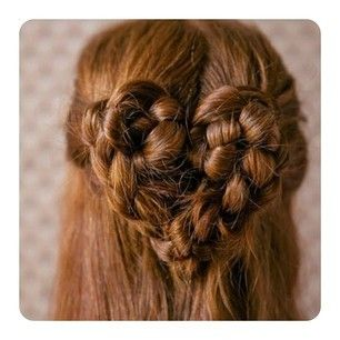 a different kind of heart braid