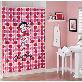 Hello Betty Shower Curtain Cool Shower Curtains Budget Bathroom