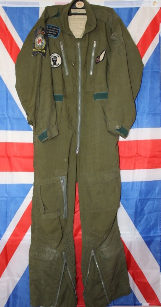 1960's RAF Mk7 Flight Suit Badged to 46 Squadron Navigator, £35 00