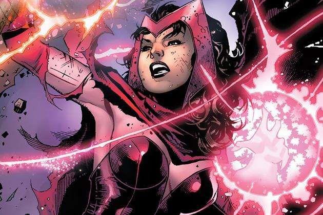 Stunning Female Comic Book Characters Ranked Scarlet Witch Scarlet Witch Costume Scarlett Witch