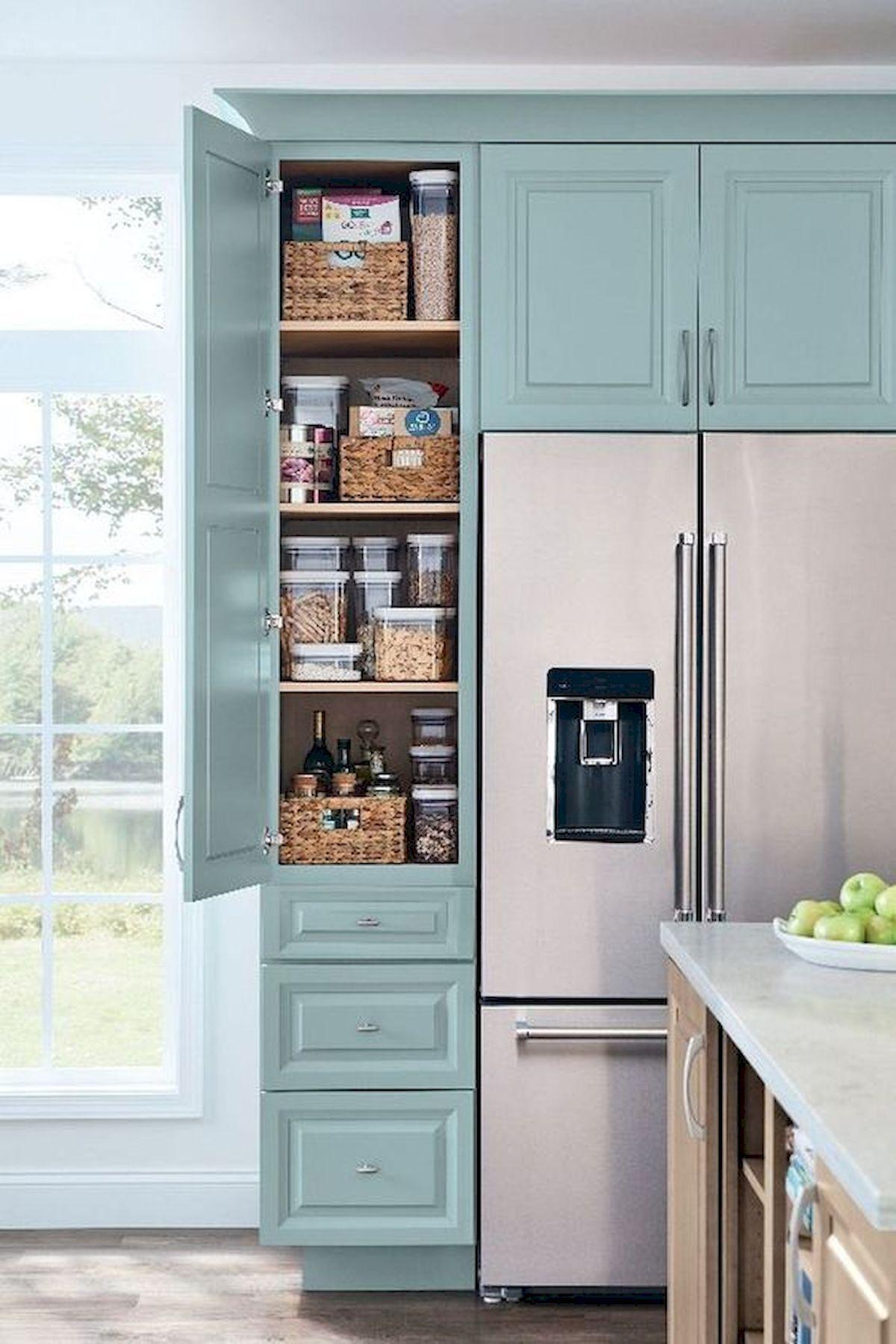 30 Awesome DIY Kitchen Cabinets Ideas #kitchenpantrycabinets