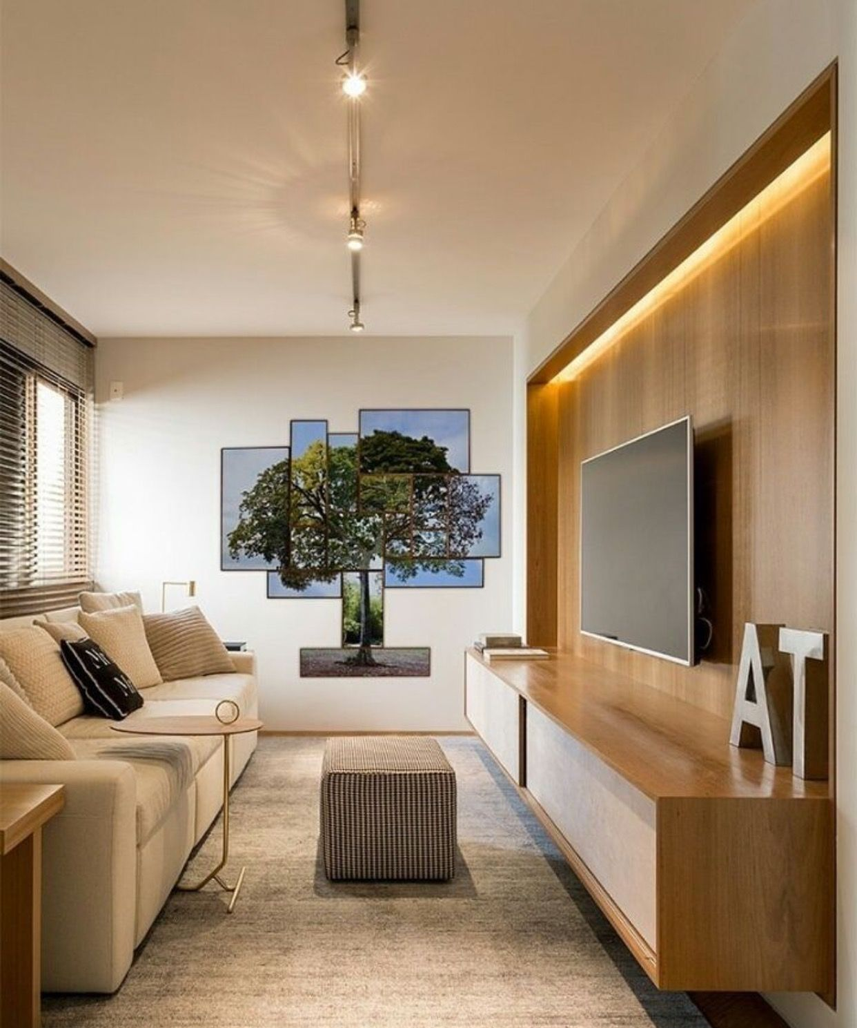 Peaceful Decor Design Pinterest Tv Walls Living Rooms And