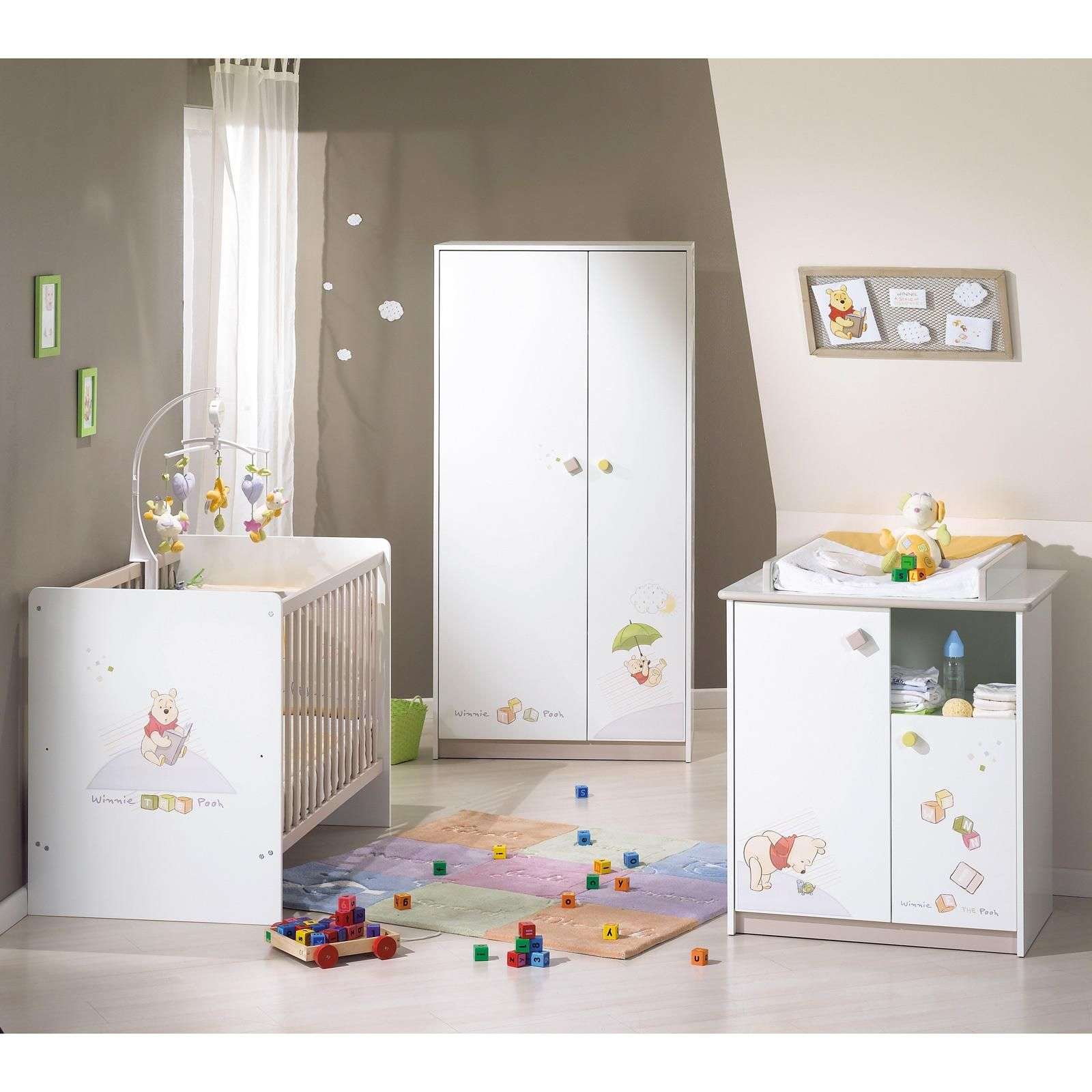 chambre de bb decoration de chambre bebe winnie l ourson - Chambre Winnie Lourson