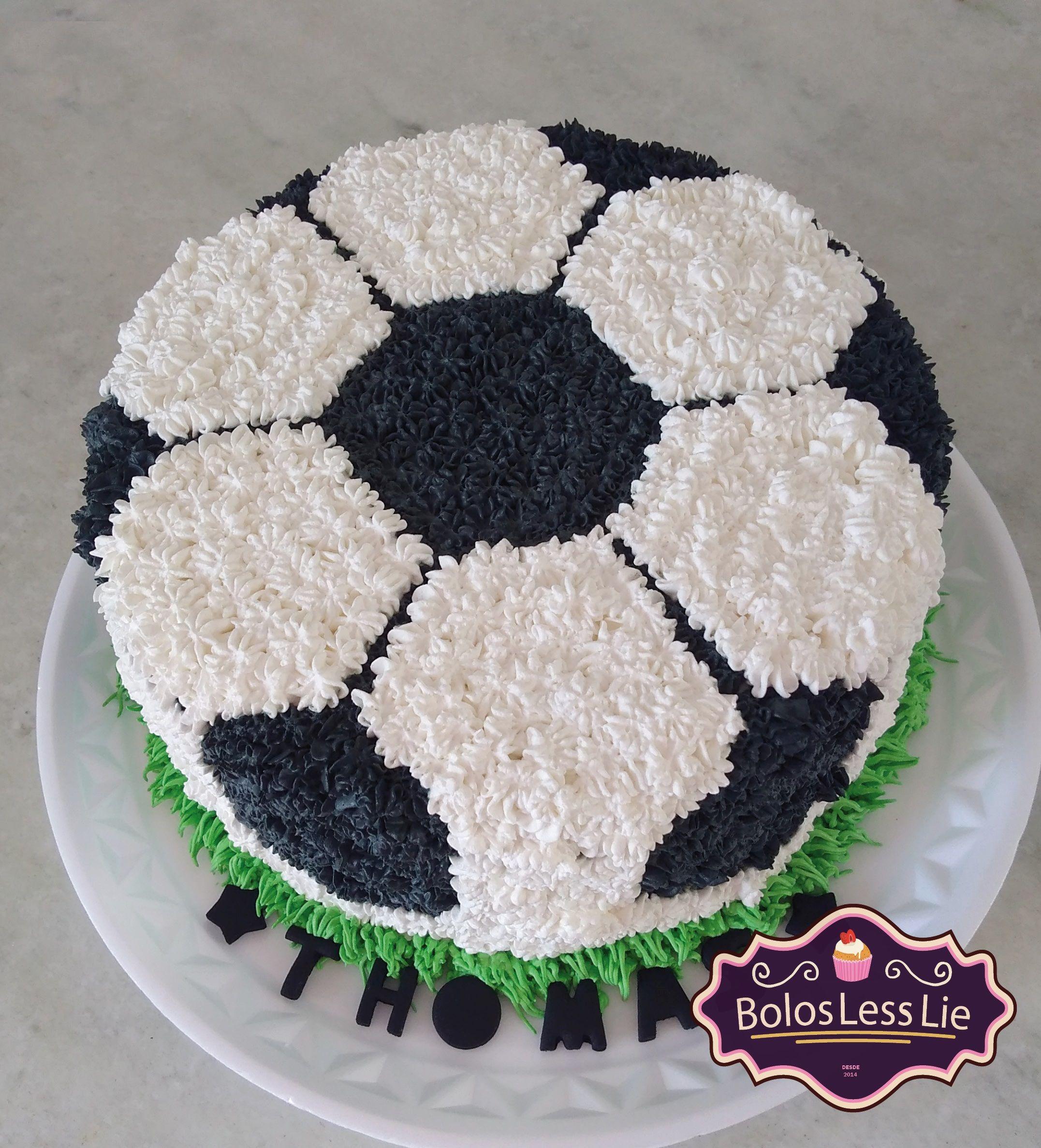 Bolo Bola De Futebol Chantilly Bolo De Aniversario Futebol