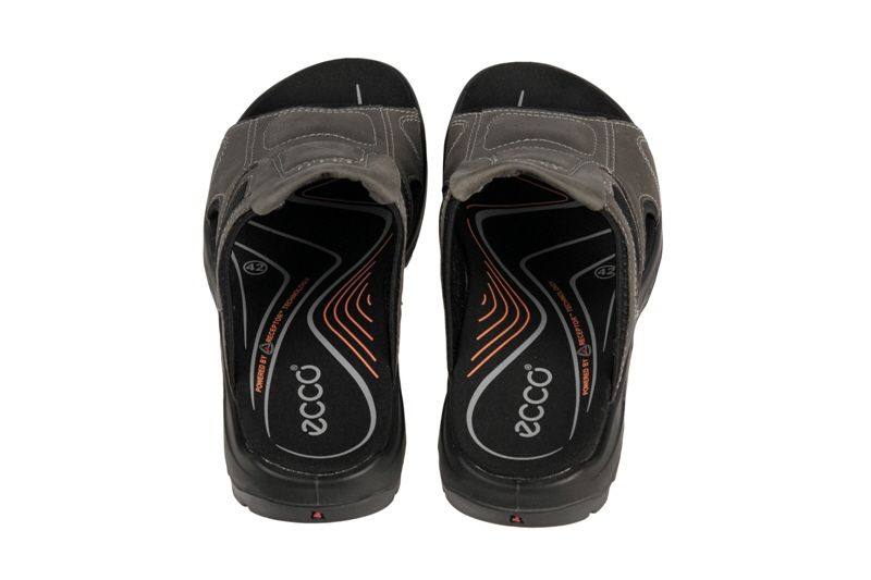 f4eaa213995bec Slippers · Gray · Ecco Offroad Riva Pantolette warm-grey - Schuhhaus  Strauch Shop