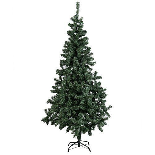 Goplus 5 Ft Artificial PVC Christmas Tree w/Stand Holiday Season