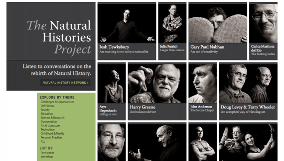The Natural Histories Project