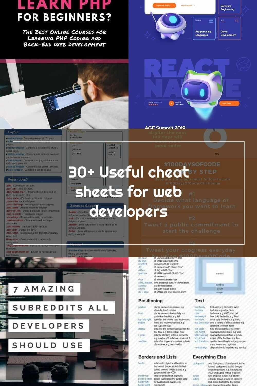 Web Development 20+ Useful cheat sheets for web developers   Web ...