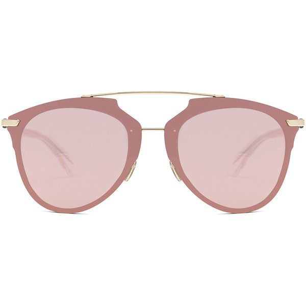 35c53a10543 Dior Reflected Sunglasses ( 550) ❤ liked on Polyvore featuring accessories