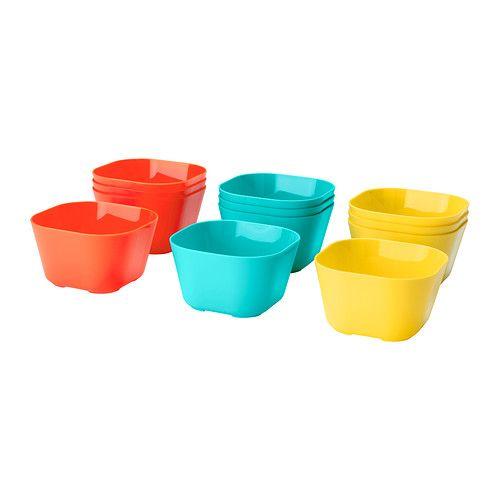 sommarfint bowl ikea set of 4 4 x4 x3 h polypropylene micro dw safe ikea. Black Bedroom Furniture Sets. Home Design Ideas