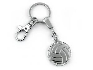 Red Rock Designs Exclusive Volleyball Key Chain