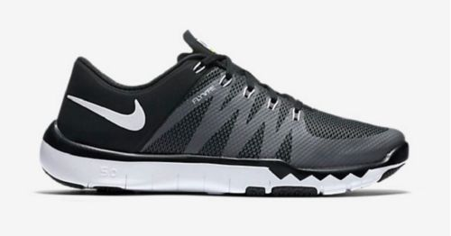 Details about Nike Free Trainer 5.0 V6 Black White Grey