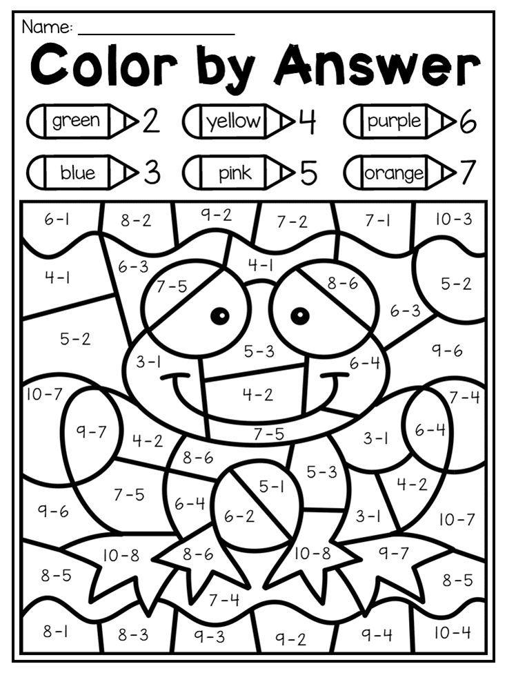 Spring Kindergarten Math and Literacy Worksheet Pack | Pinterest ...