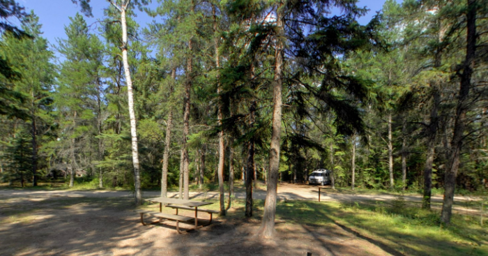 9. Hayes Lake State Park Great places to camp in MN