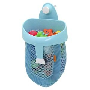 BRICA Super Scoop� Bath Toy Organizer with Wall Suction - Blue