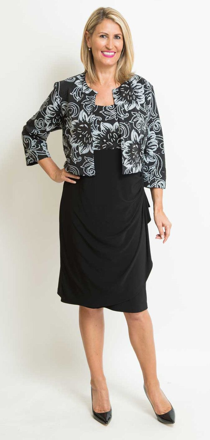 Plus Size Mother Of The Bride Dress in Australia | Patterns | Mother ...