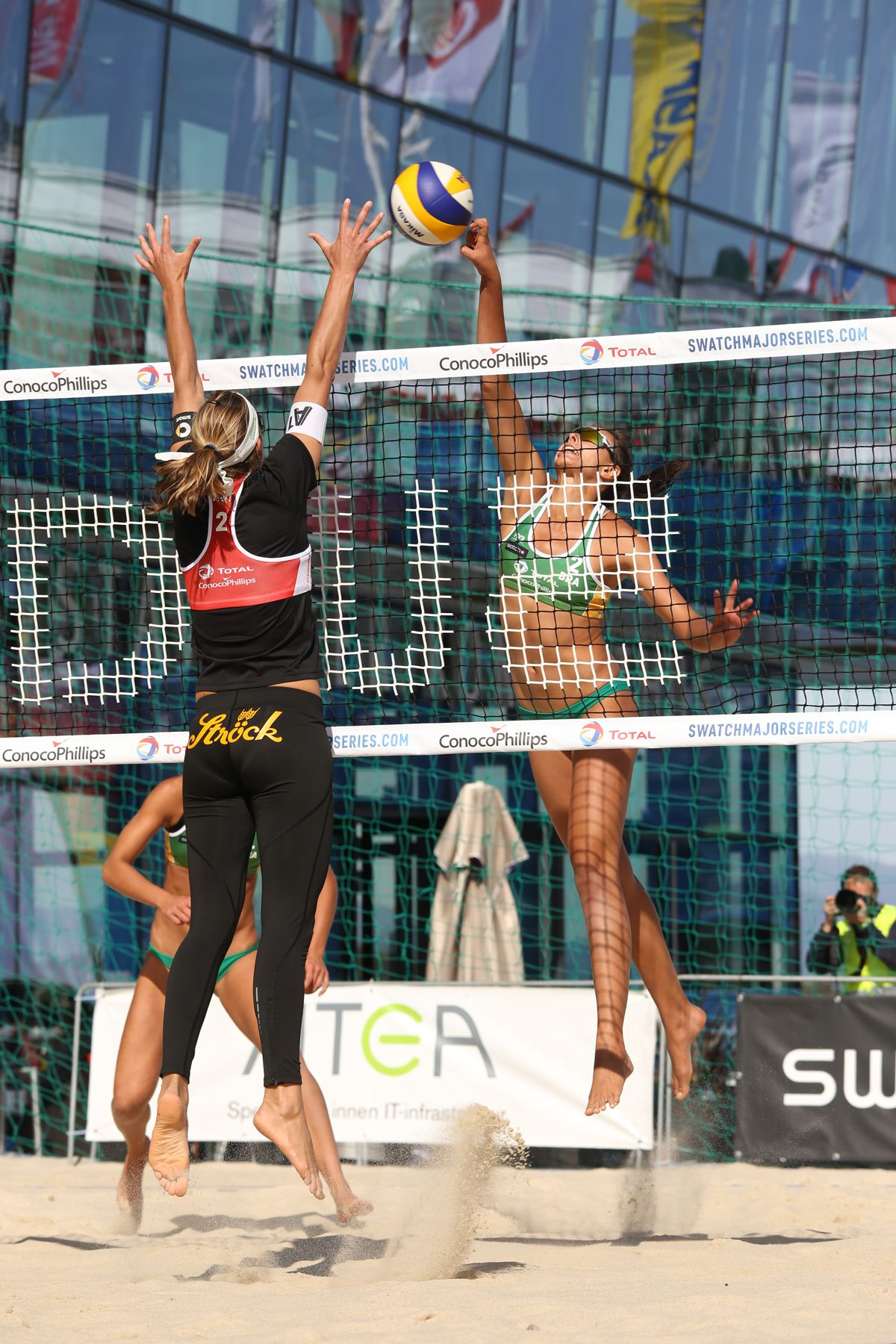 SWATCH Beach Volleyball Major Series FIVB, Stavanger, Norway 2015.