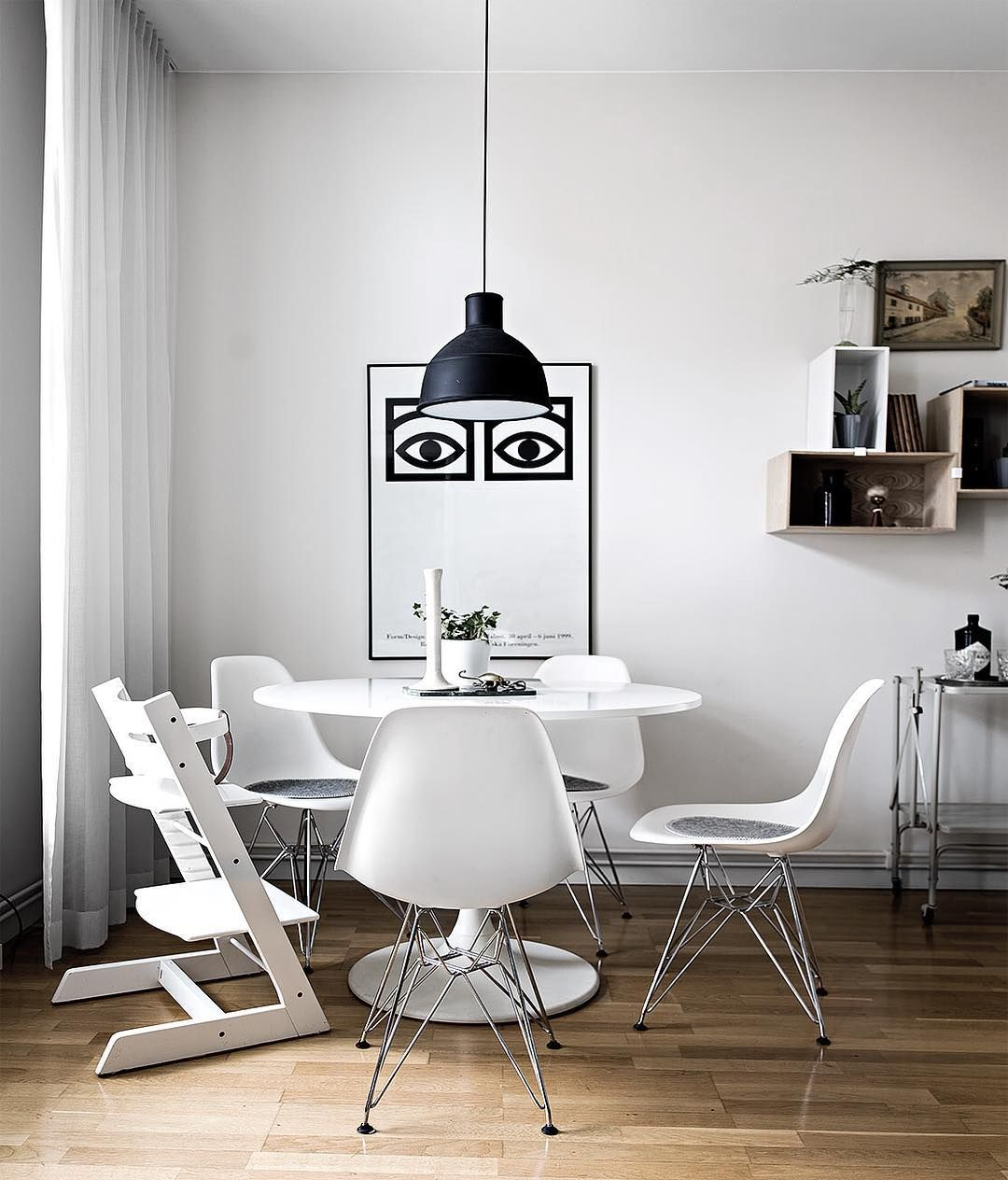 Ikea \'Docksta\' tulipe table @mainstreetsthlm | Cuisine | Pinterest ...