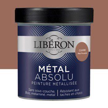 Peinture Pour Meuble Objet Et Porte Liberon Metal Absolu Cuivre 0 5 Leroy Merlin Peinture Meuble Liberon Peinture Cuivre