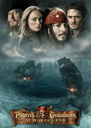 Poster For Pirates Of The Caribbean At World S End Pirates Of The Caribbean Pirates Caribbean