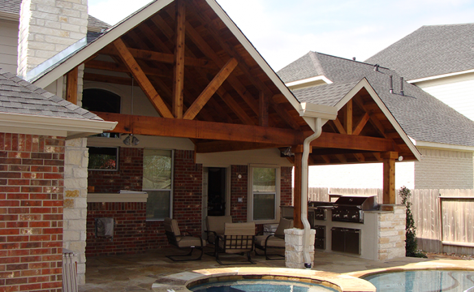 Gabled Patio | Gable Patio Cover 1