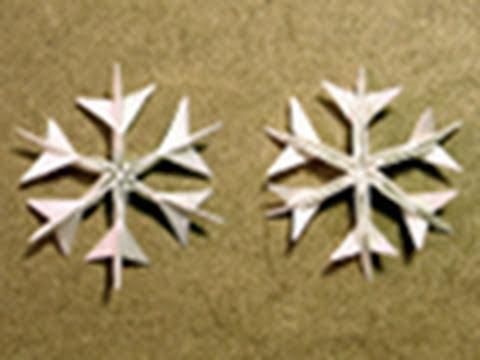 Photo of Christmas Origami Instructions: Snowflake (Jared Needle)