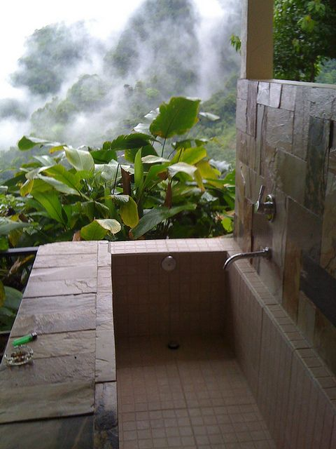 Rancho Pacifico - Japanese soaking tub
