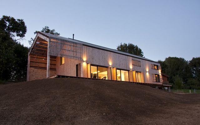Maison à Montemboeuf (16) Architecte  Tom Kyle Prix Régional de