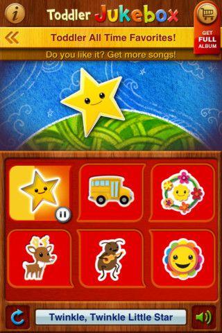 Toddler Jukebox: 6 free songs | Kids app, Free songs, Twinkle little star  song