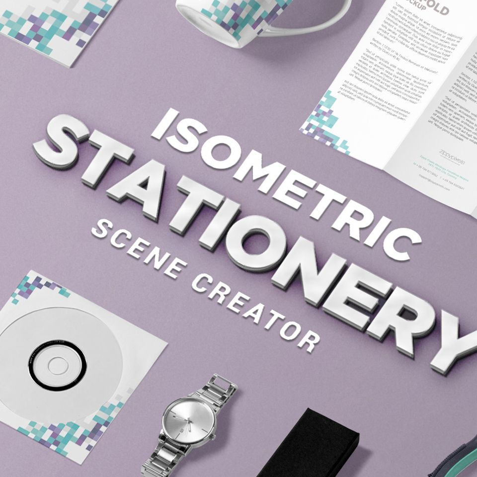 free isometric stationery psd scene creator html design computer science experience resume teacher aide examples bartender summary