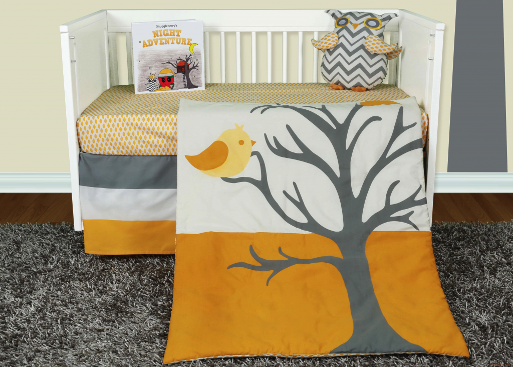 Nightie Night Owl 5 Piece Crib Baby Bedding collection, by Snuggleberry Baby.  Soothing greys and warm shades of amber transform your nursery into a place of lofty aspirations and sweet dreams where contemporary design meets affordable style. Click here to view the  collection http://snuggleberrybaby.com/bedding/nightie-night-owl-collection/. #Snuggleberrybaby #crib #bedding #cribbedding #cribbeddingset #baby #nursery #owl #night #grey #yellow #cream #mustard #creme #chevron #canary