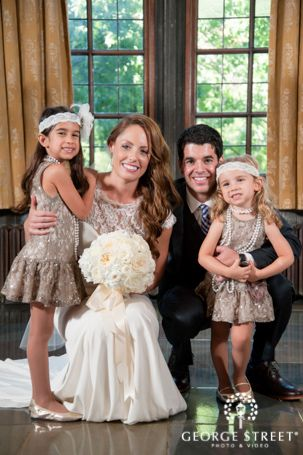 68e912e9ae How adorable are these 1920 s inspired flower girl outfits ...