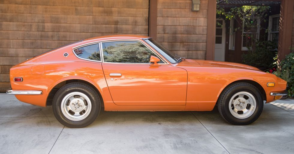 1 Owner Datsun 240z Relives Nissan S Glory Days In Glorious Orange In 2020 Datsun 240z Datsun Nissan
