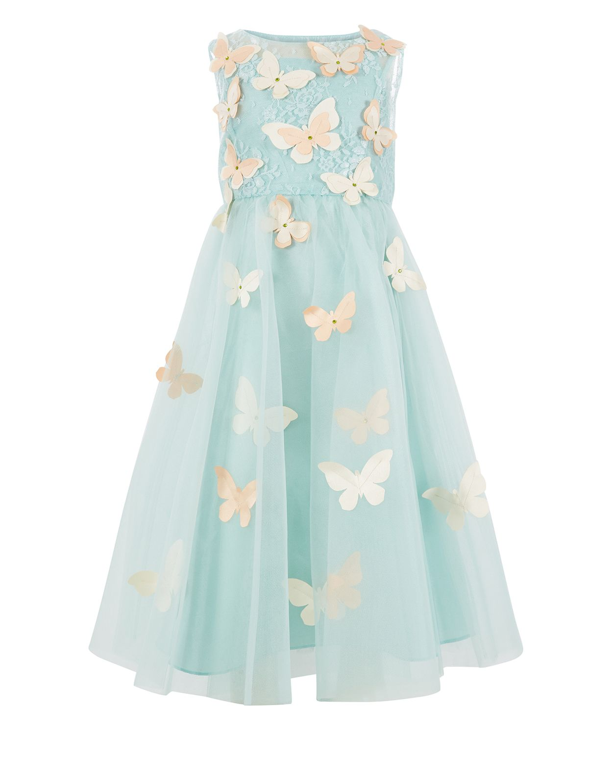 Ruby butterfly dress green monsoon flower children style up her wardrobe with our trend focused girls dresses for daytime and parties ombrellifo Images