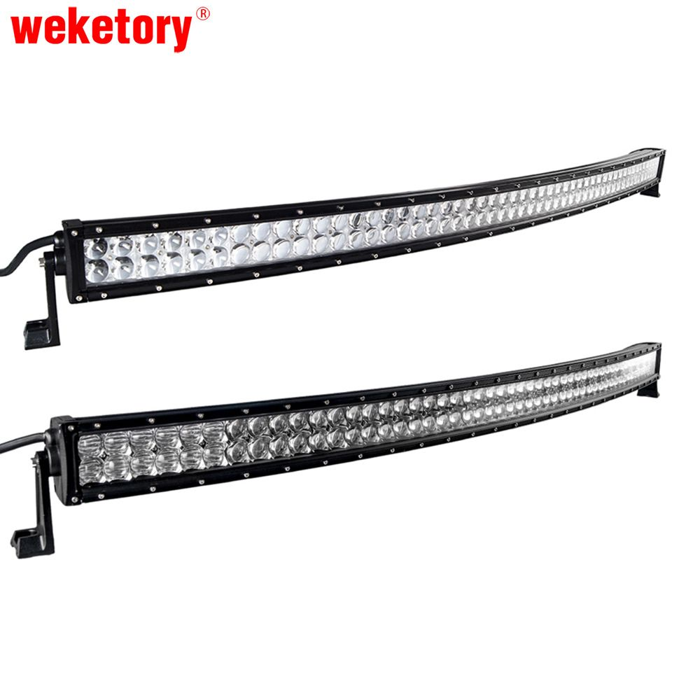Best price weketory 4d 5d 52 inch 500w curved led work light bar for best price weketory 4d 5d 52 inch 500w curved led work light bar for tractor boat aloadofball