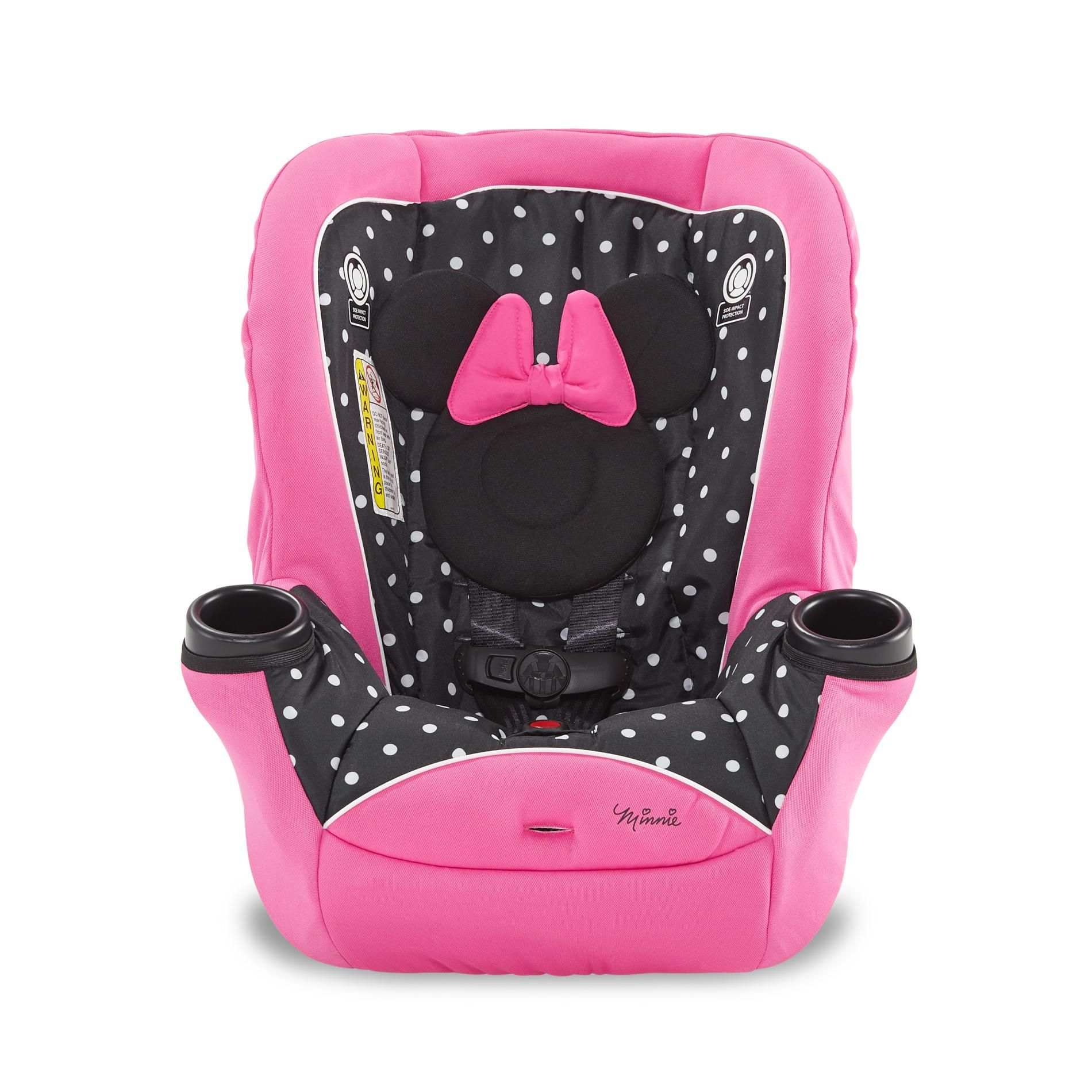 Disney minnie mouse 2in1 car seat pink car seats