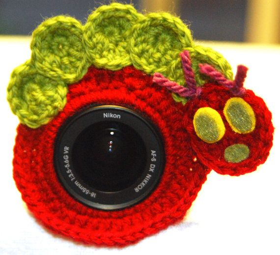 Camera Lens Buddy Inspired by The Very Hungry by MadeForMunchkins, $12.00